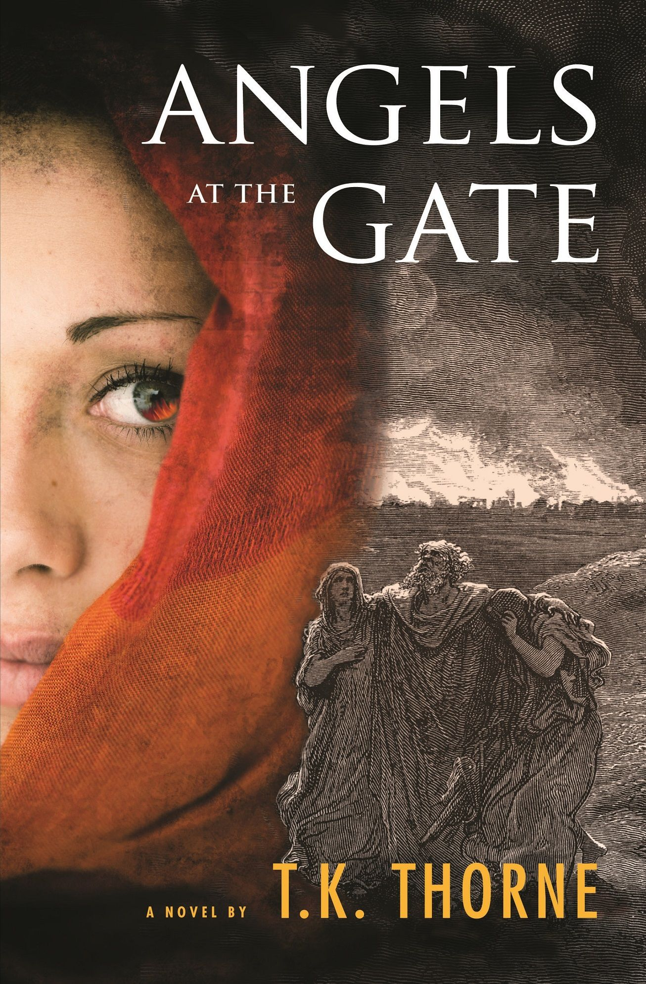 Angels at the Gate by T. K. Thorne Book Cover